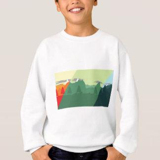 組合せ山 スウェットシャツ