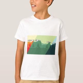 組合せ山 Tシャツ