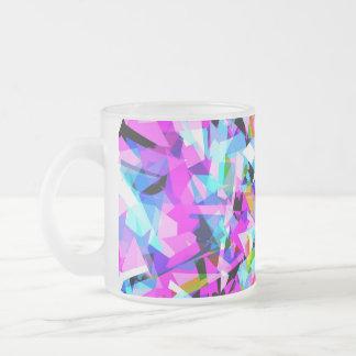 組合せ#420 -カラフルなマグ フロストグラスマグカップ