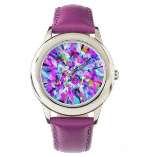 組合せ#420 -紫色の腕時計 腕時計