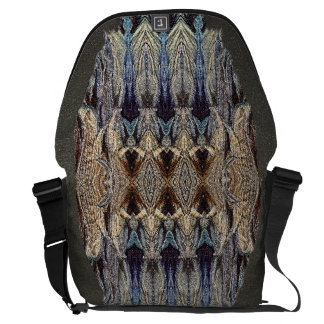 組織上デザイナー抽象芸術のライフスタイルの通勤者のバッグ メッセンジャーバッグ