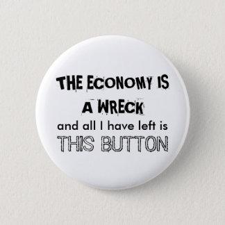 経済は大破です 缶バッジ