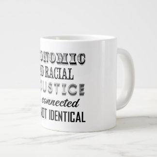 経済的な不公平不公平人種的ではない不公平不公平ではないです ジャンボコーヒーマグカップ