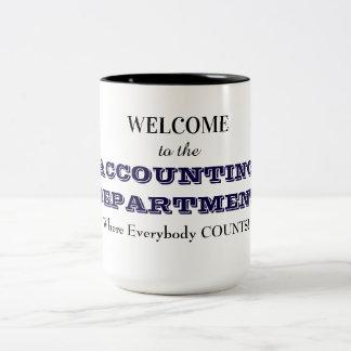 経理部のマグ ツートーンマグカップ