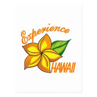 経験ハワイ ポストカード