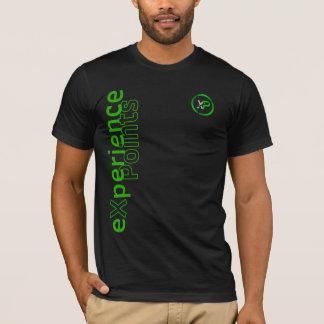 経験ポイント/XP硬貨の独身のな味方されたデザイン Tシャツ