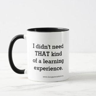 経験-マグ--を学びます マグカップ