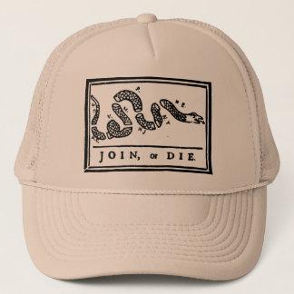 結合しますか、または帽子トラック運転手の死んで下さい キャップ