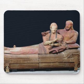 結婚したなカップルの石棺、525-500紀元前に マウスパッド