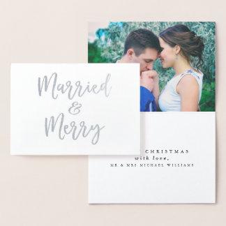 結婚したな及びメリークリスマス 箔カード