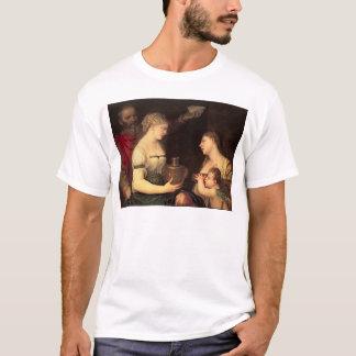 結婚したな生命のアレゴリー Tシャツ