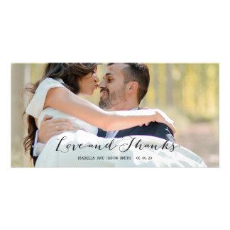 結婚するエレガントな原稿%PIPE%は写真カード感謝していしています カード