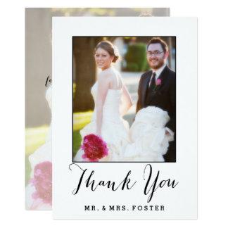 結婚する手によって文字を入れられる原稿 は写真感謝していしています 12.7 X 17.8 インビテーションカード