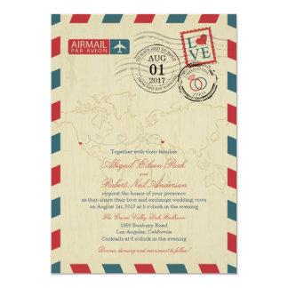結婚する航空郵便カリフォルニアおよびシリア| カード