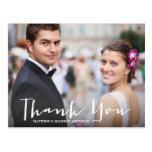 結婚する%PIPE%に文字を入れる手は郵便はがき感謝していしています 葉書き