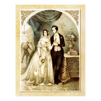 結婚の夕べ-披露宴 ポストカード