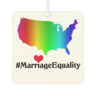 結婚の平等愛は芳香剤に勝ちました カーエアーフレッシュナー