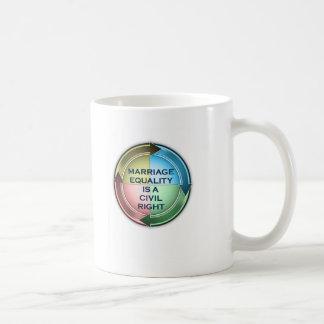 結婚の平等 コーヒーマグカップ