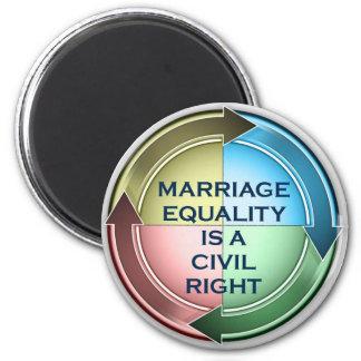 結婚の平等 マグネット