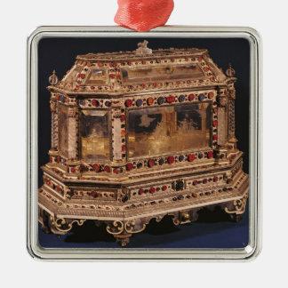 結婚の貴重品箱1753年 メタルオーナメント