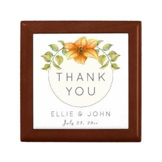 結婚は好意の水彩画の星の花感謝していしています ギフトボックス