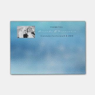 結婚は好意の灰色の銀製の白いグラデーション感謝していしています ポストイット