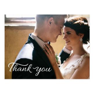結婚は挨拶状の郵便はがき感謝していしています ポストカード