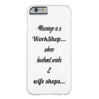 結婚は研修会です BARELY THERE iPhone 6 ケース