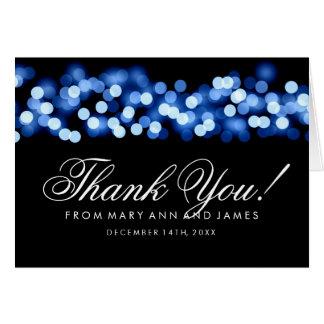 """""""結婚は""""ハリウッドの青い魅力感謝していしています カード"""