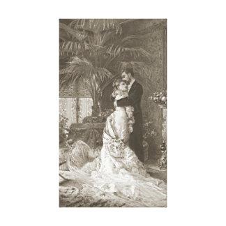 結婚初夜1881年 キャンバスプリント