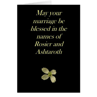 結婚式か結婚 カード
