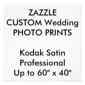 """結婚式のカスタム24""""はx 24""""専門の写真印刷します アートフォト"""