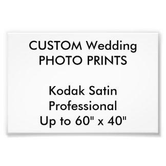 """結婚式のカスタム6""""はx 4""""専門の写真印刷します フォトプリント"""