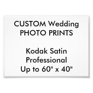 """結婚式のカスタム7""""はx 5""""専門の写真印刷します フォトプリント"""