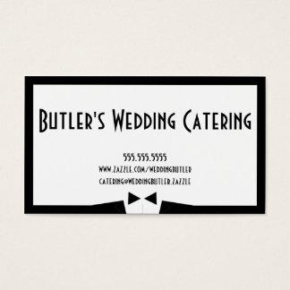 結婚式のケイタリングビジネスカード 名刺
