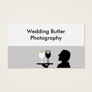 結婚式のサービス業カード 名刺