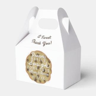 結婚式のチョコチップクッキーは夢のこね粉を扱います フェイバーボックス