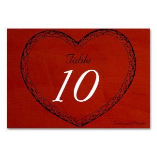 結婚式のテーブル数Marsalaの深紅色の結婚式