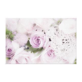 結婚式のバラの生け花 キャンバスプリント