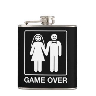 結婚式のフラスコ上のゲーム フラスク