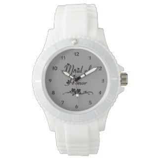 結婚式のメイド・オブ・オーナー(花嫁付き添い人) 腕時計