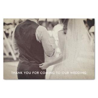 結婚式の写真のティッシュペーパー 薄葉紙