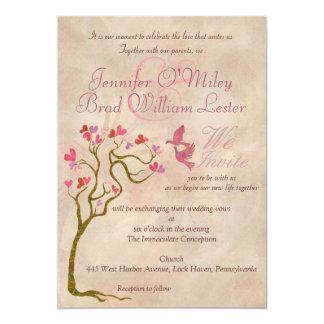 結婚式の写真の招待状 カード