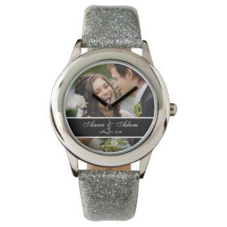 結婚式の写真の記念品 腕時計