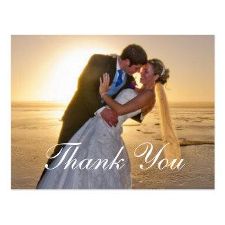 結婚式の写真はメッセージカード感謝していしています ポストカード