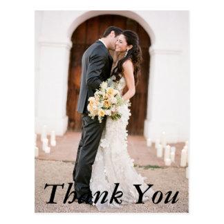 結婚式の写真は郵便はがき感謝していしています はがき