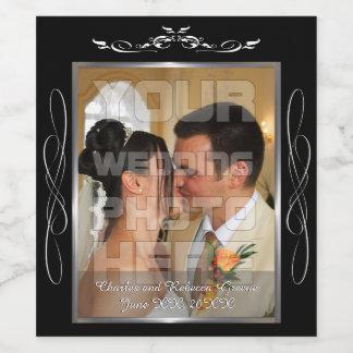 結婚式の写真 ワインラベル