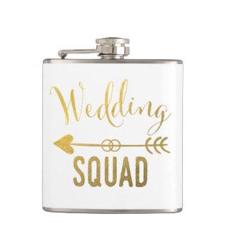 結婚式の分隊のフラスコ フラスク