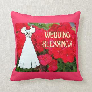 結婚式の天恵、花嫁の白 クッション