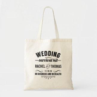 結婚式の存続キットの歓迎 トートバッグ